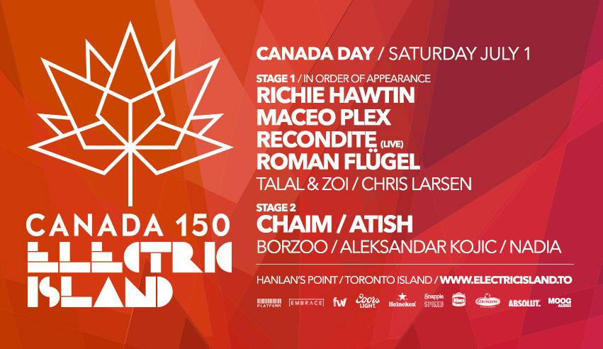 Electric Island Canada Day 2017