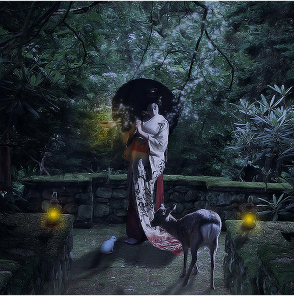 Troyboi 39 s 39 moon gardens 39 is a magical adventure for Under the garden moon