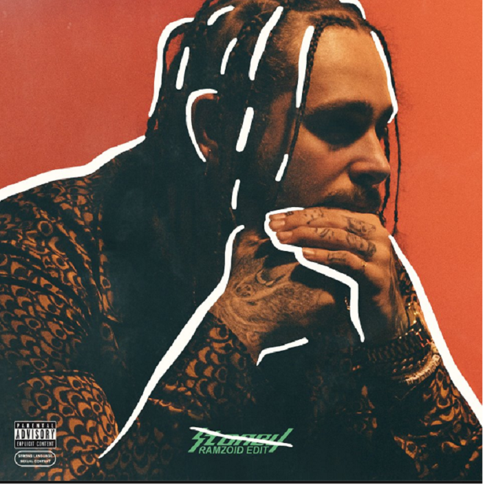 Try These Post Malone Wow Album Cover {Mahindra Racing}
